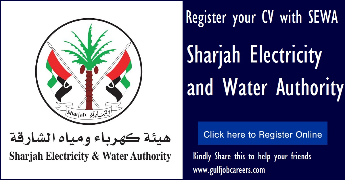 Sharjah Electricity And Water Authority Jobs And Careers