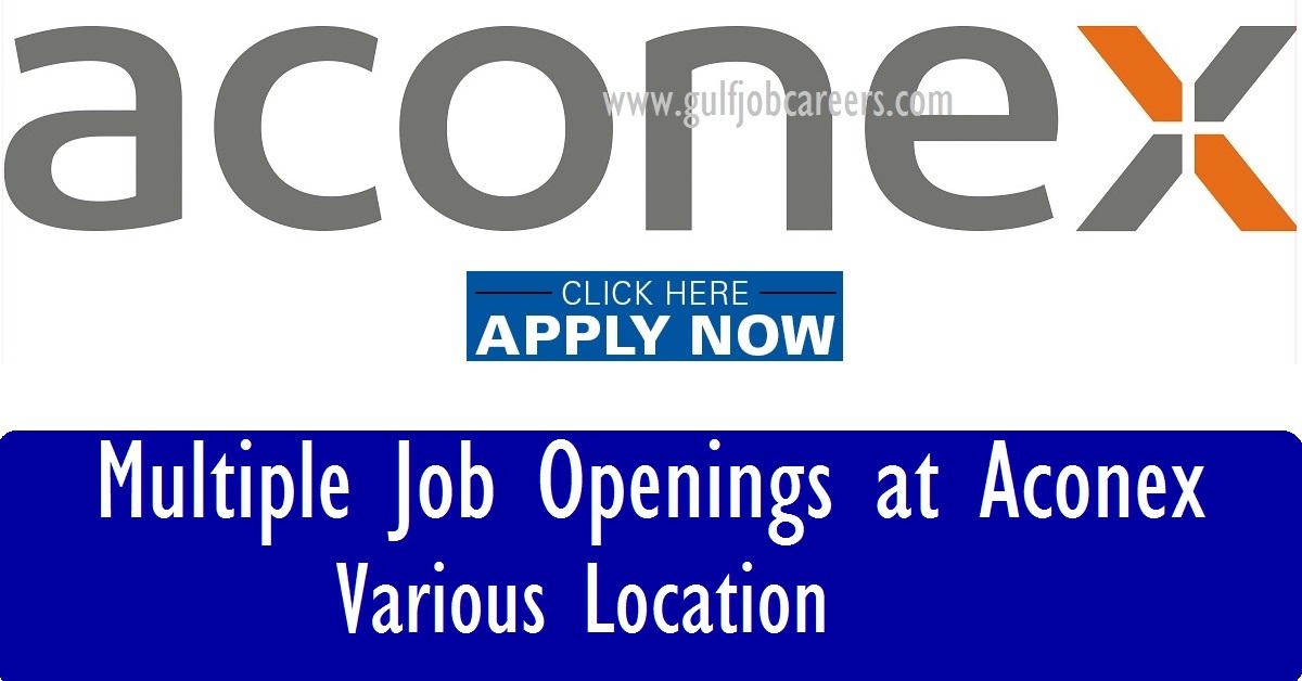 Latest Job Vacancies at Aconex - US-India-Singapore