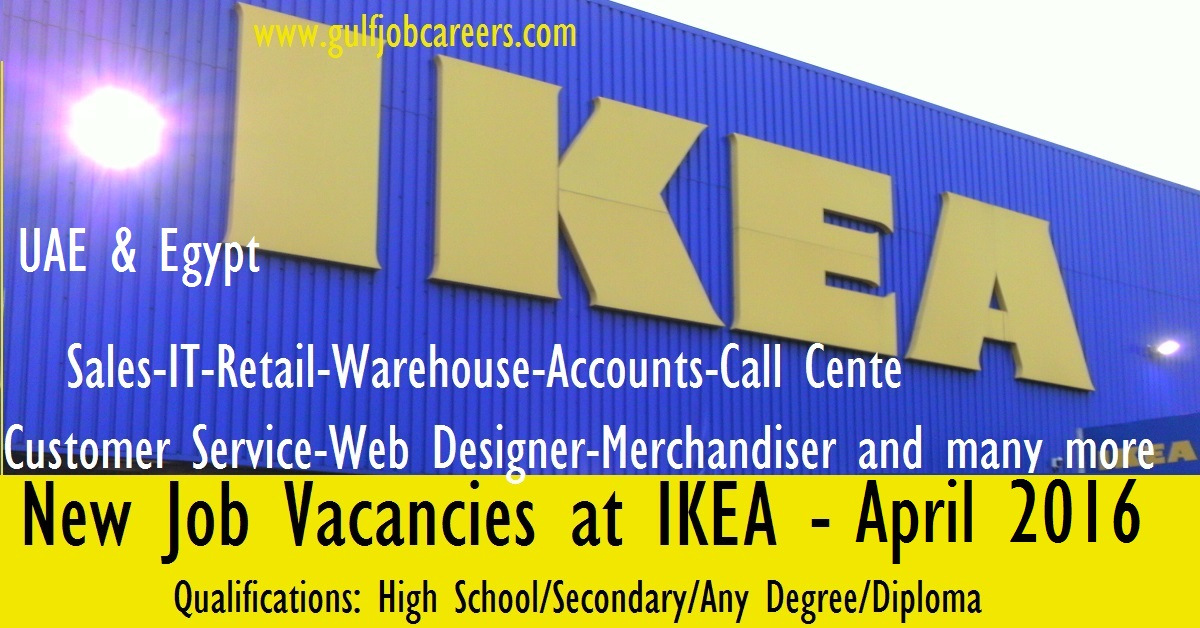 Exciting careers at ikea uae egypt Ikea security jobs