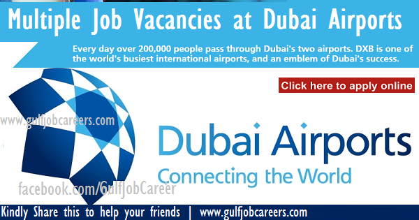Job Vacancies at Dubai Airports