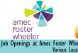 Amec Foster Wheeler careers