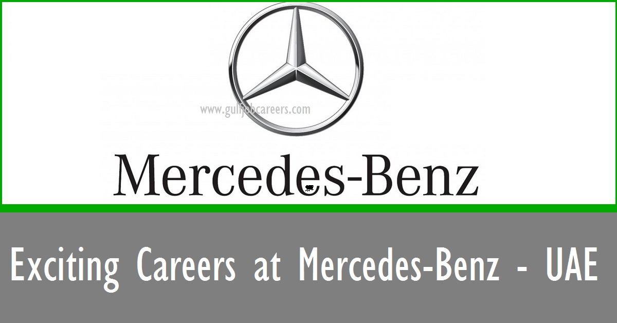 Exciting careers at mercedes benz uae for Mercedes benz jobs
