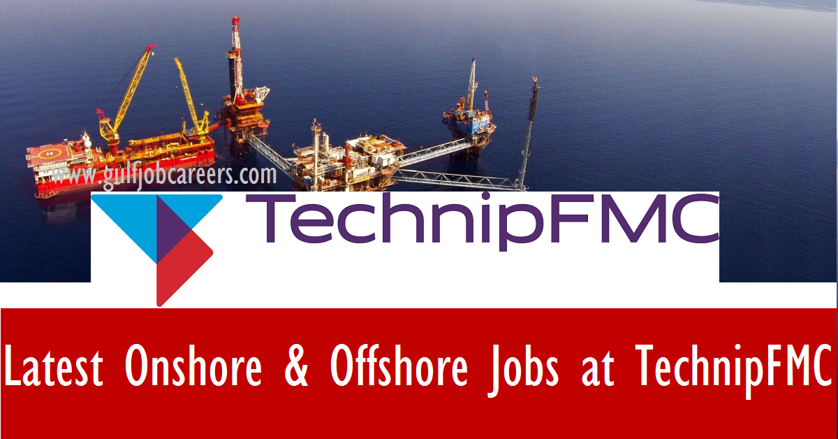 Oilfield Jobs Operator Asst Trainee Odessa Tx: Latest Onshore & Offshore Jobs At TechnipFMC