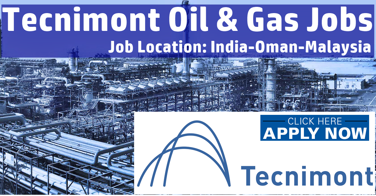 tecnimont oil  u0026 gas jobs