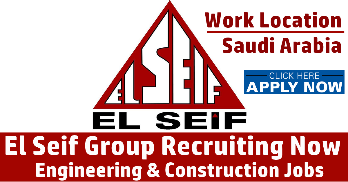 Multiple Jobs At El Seif Engineering Contracting Company