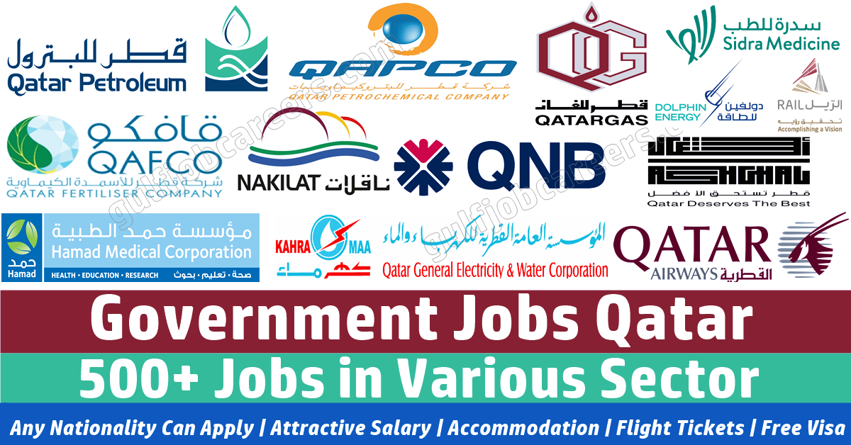 Government Jobs in qatar