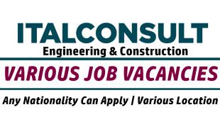 ITALCONSULT Jobs