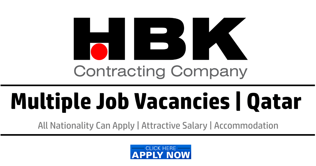 HBK Contracting Company Jobs