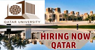 Qatar University Jobs