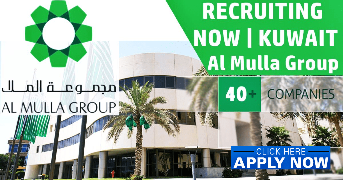 Al Mulla Group Kuwait Vacancies