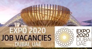 Expo2020 Dubai job vacancies