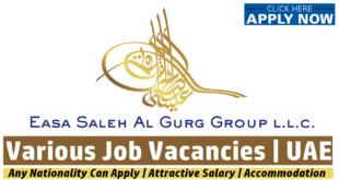 Easa Saleh Al Gurg Group Jobs