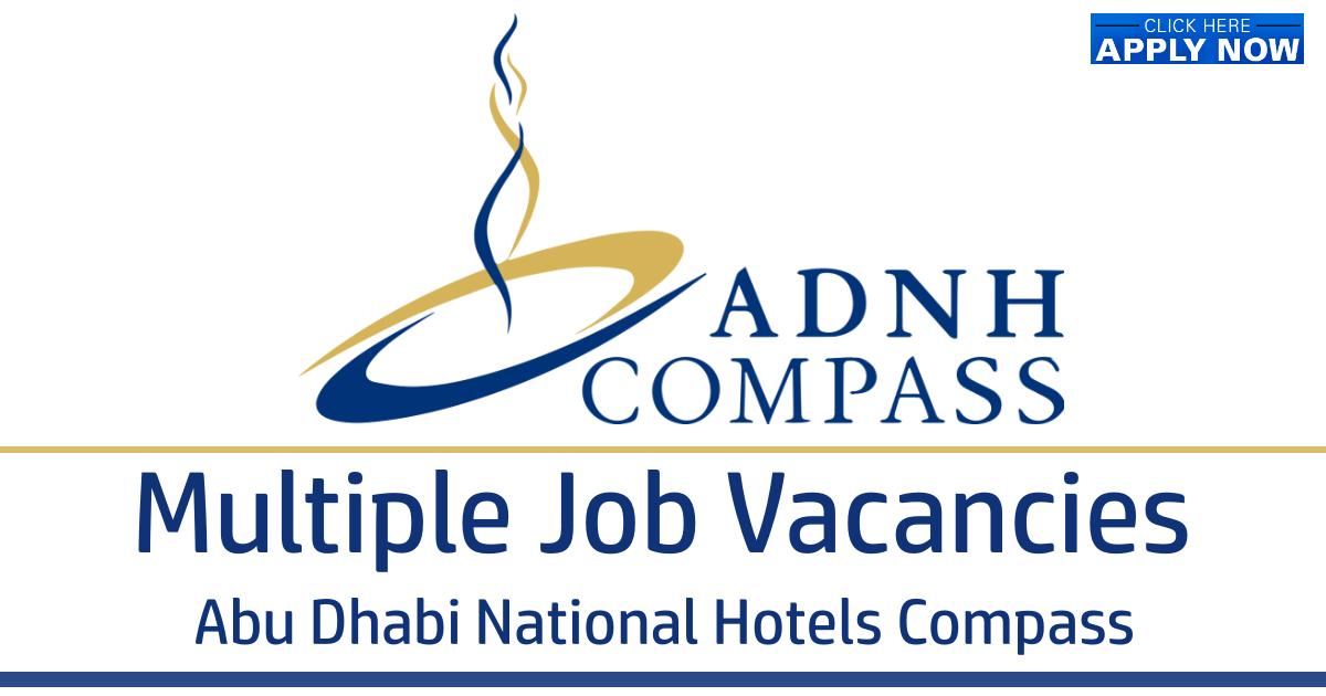 Abu Dhabi National Hotels Compass careers