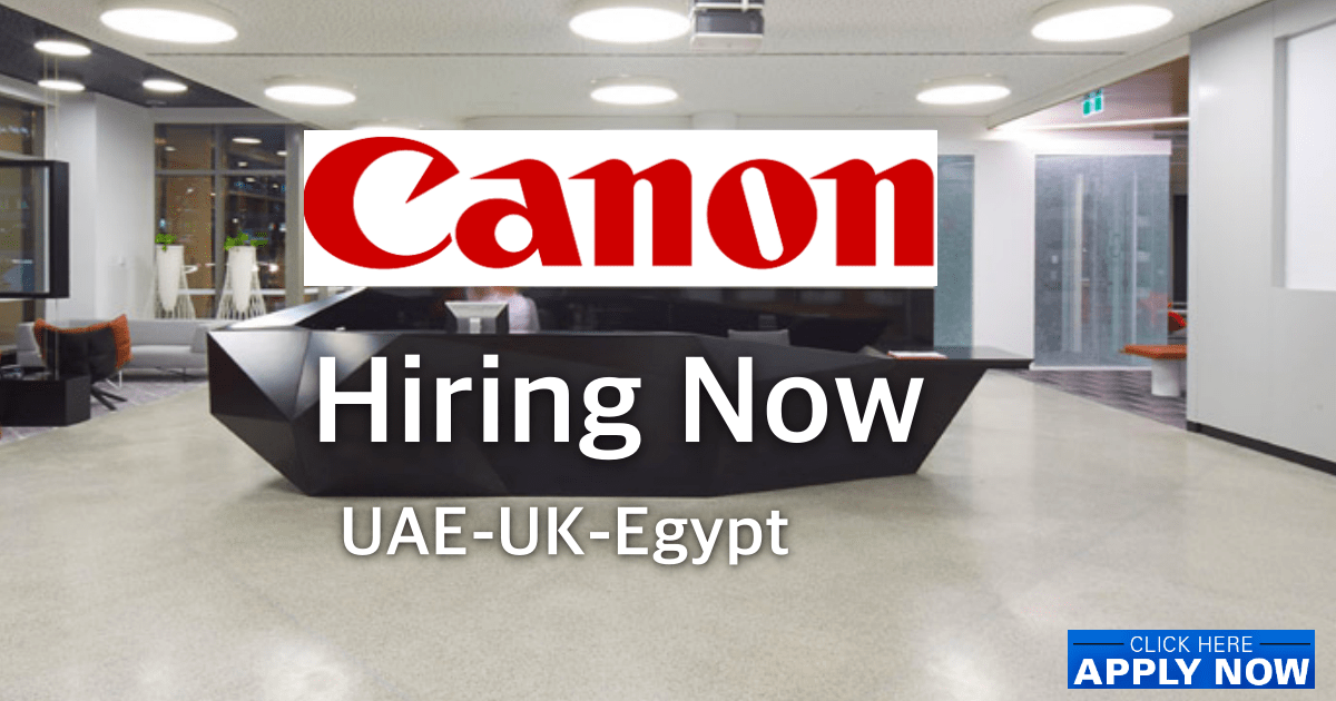 Canon Middle East Careers
