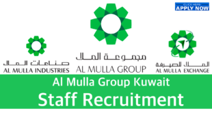 Al Mulla Group Kuwait Vacancies