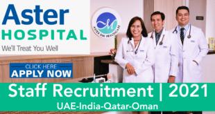 aster hospital jobs