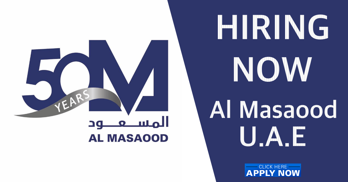 Al Masaood job vacancies