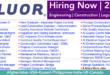 Fluor jobs