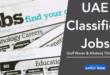 Gulf News Classified Jobs Dubai