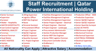 Power International Holding Qatar Careers