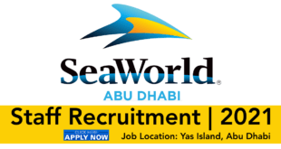 SeaWorld Abu Dhabi Jobs