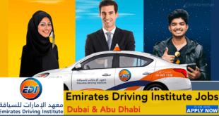 Emirates Driving Institute Careers