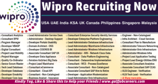 wipro job Vacancies