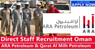 ARA Petroleum Oman Careers