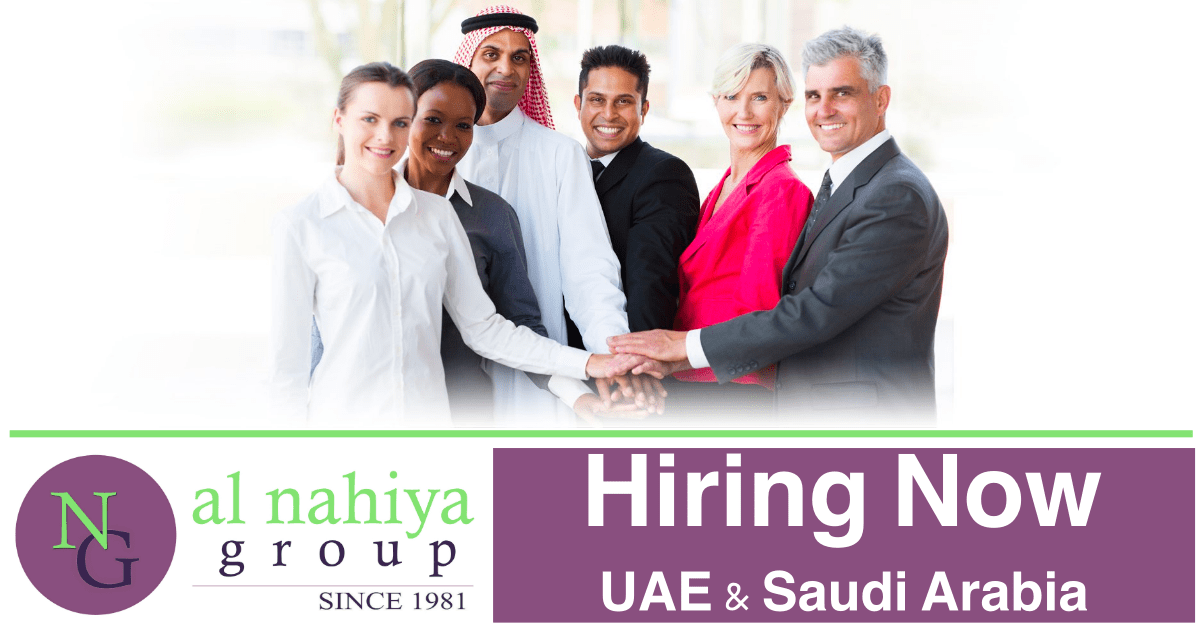 Al Nahiya Group Jobs