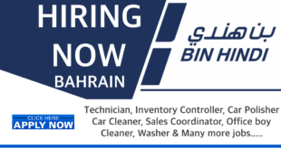 Bin Hindi Group Bahrain Careers