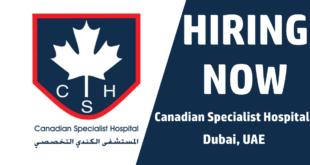 Canadian Specialist Hospital Dubai Careers
