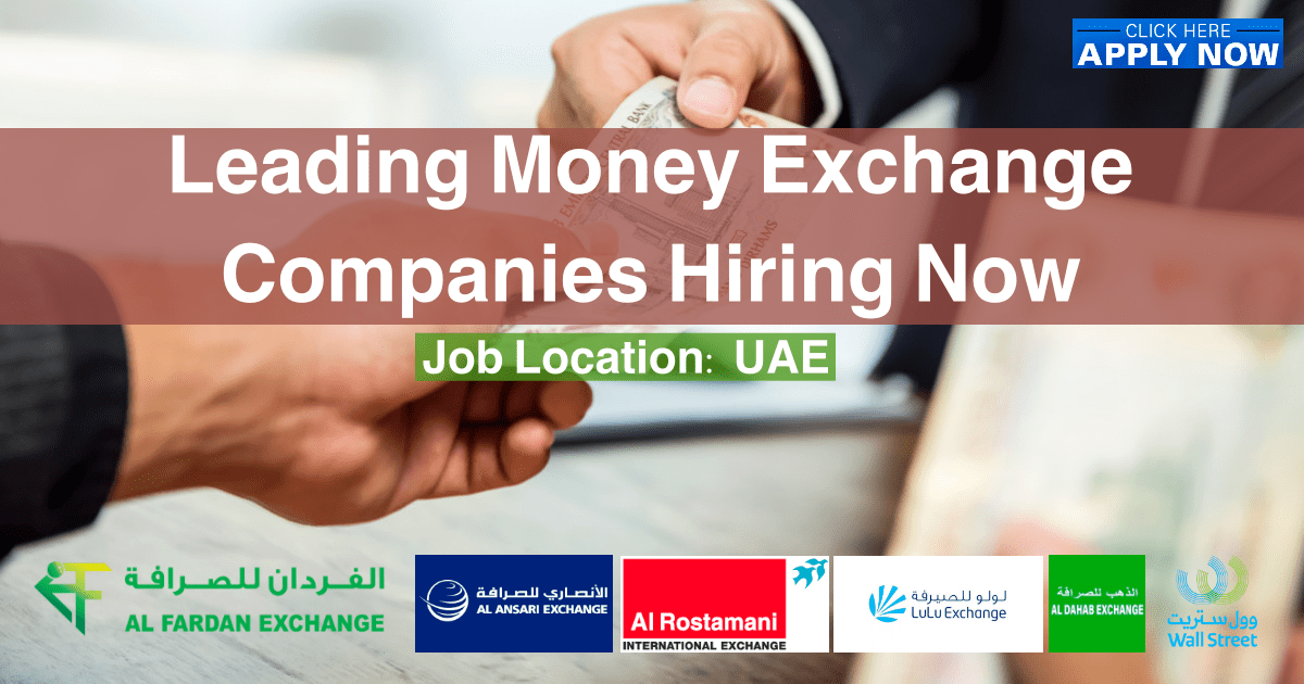 Foreign Exchange Careers in Dubai
