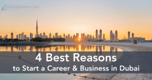 4 Best Reasons to Start a Career in Dubai
