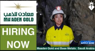 Maaden Gold Jobs