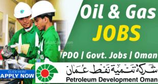 PDO Oman Jobs