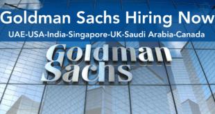 Goldman Sachs Jobs