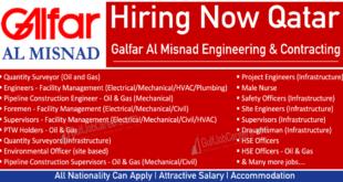 Galfar Qatar Job Vacancy