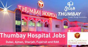 Thumbay Hospital Careers