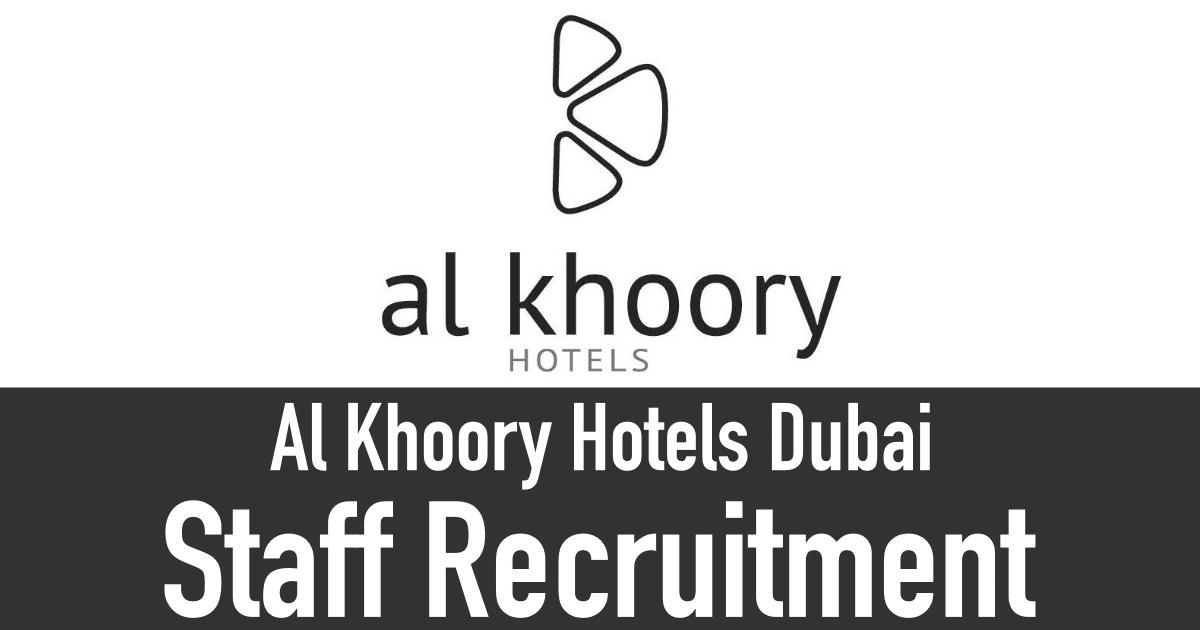 Al Khoory Hotels Careers