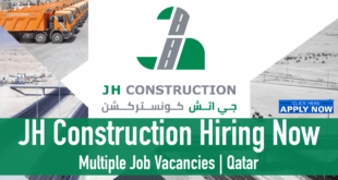 JH Construction WLL Careers