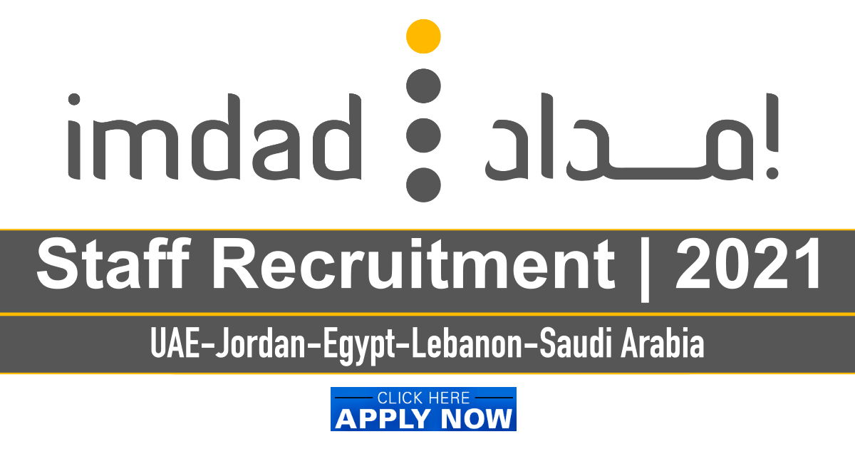 IMDAD Company Job Vacancies
